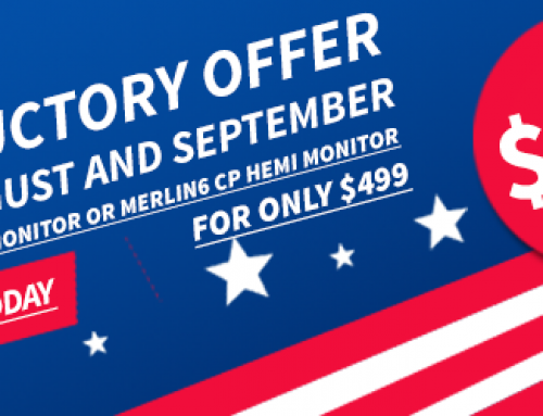 MERLIN6 AC Monitor & CP Hemi Monitor – Introductory Offers
